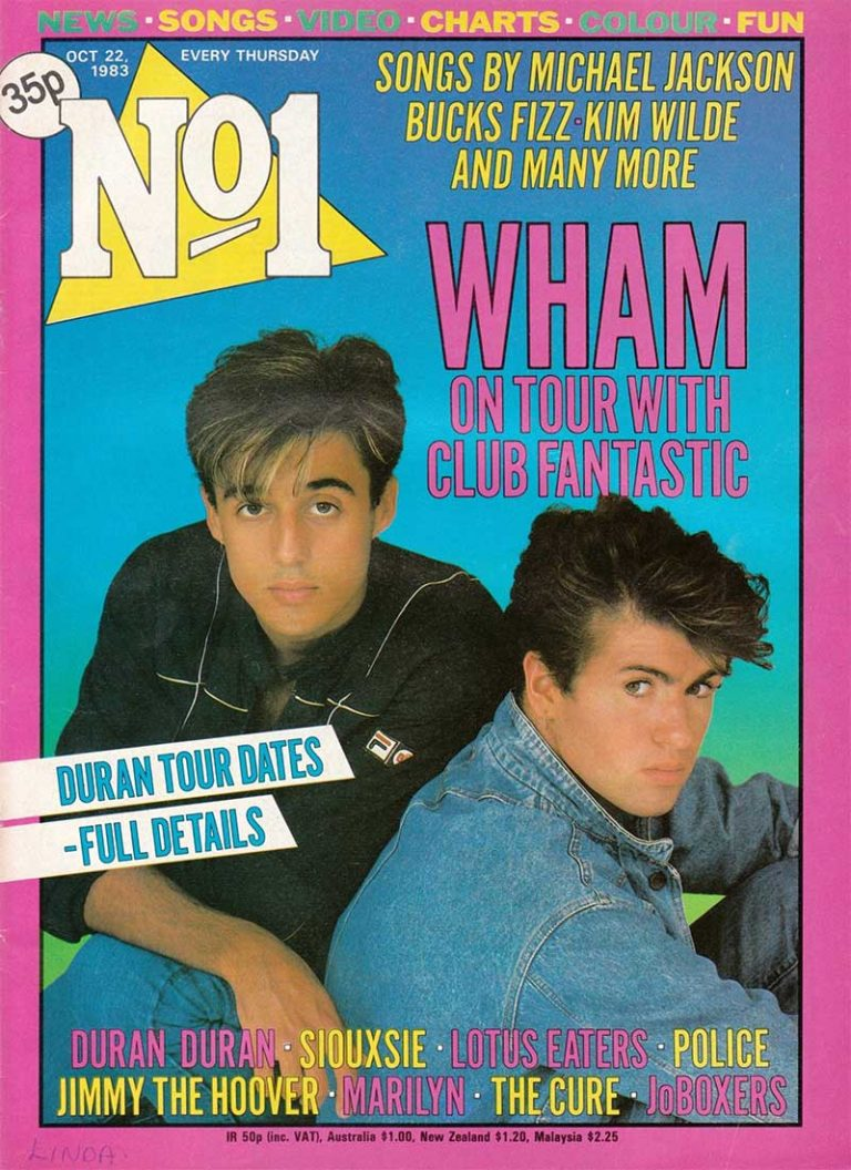 No.1 Magazine, October 1983